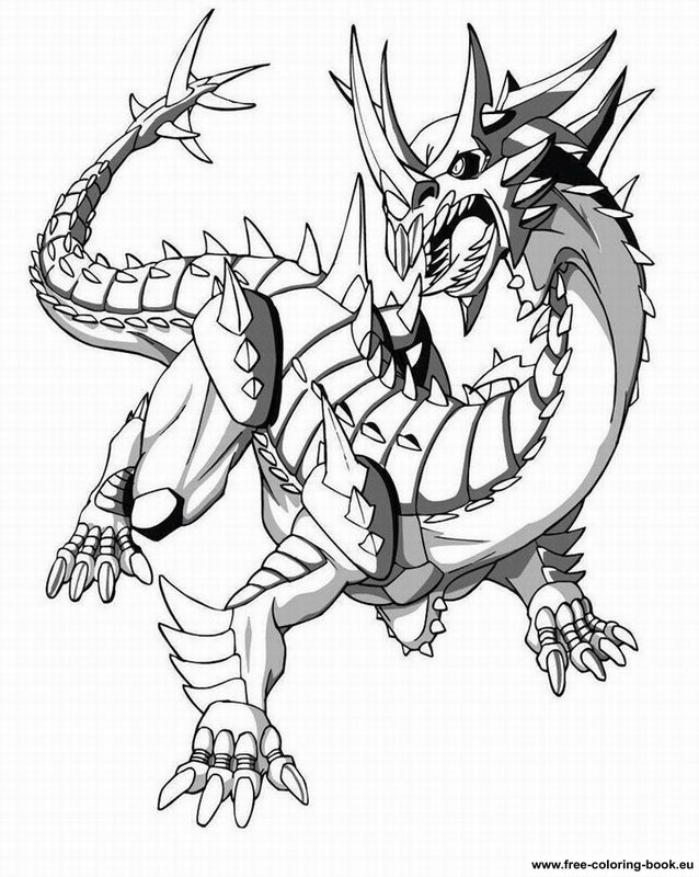 bakugan battle brawlers coloring pages - photo#22