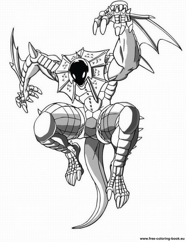 bakugan battle brawlers coloring pages - photo#15