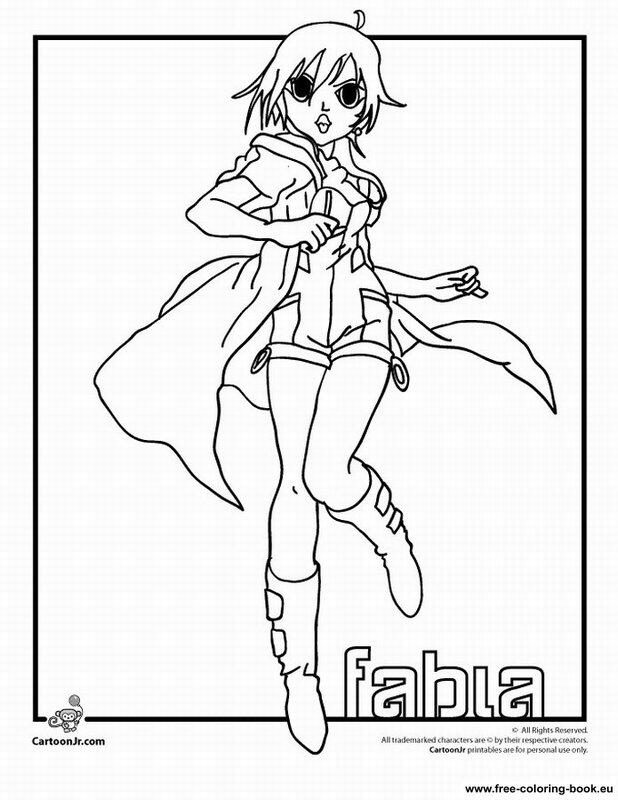 bakugan battle brawlers coloring pages - photo#11