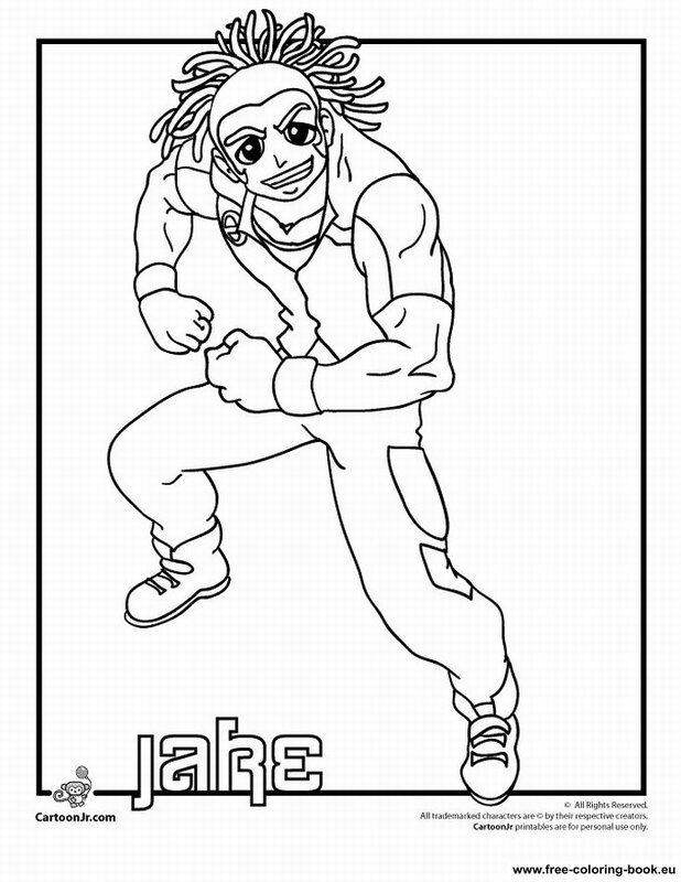 bakugan battle brawlers coloring pages - photo#2