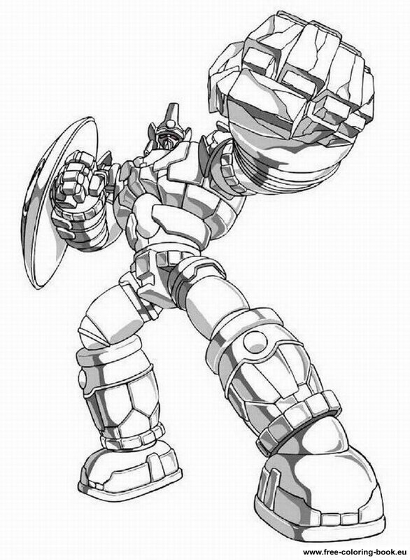 Coloring pages Bakugan Battle Brawlers