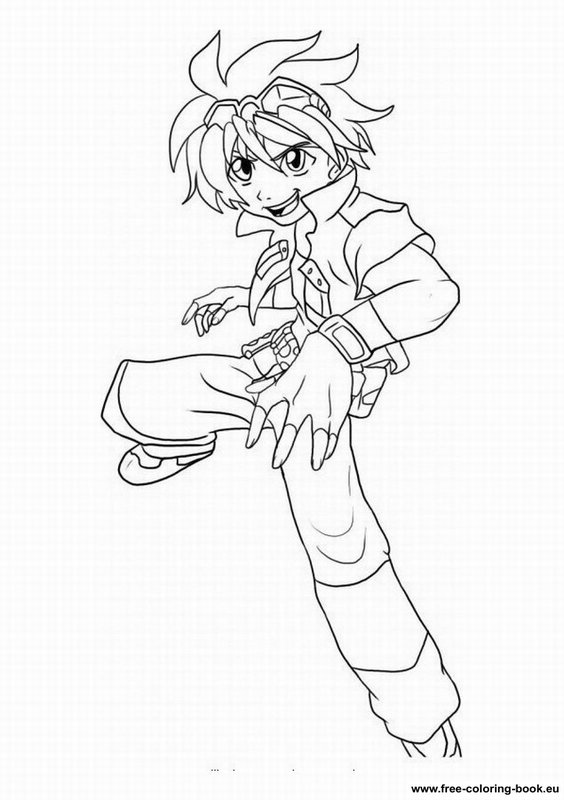 Coloring Pages Bakugan Battle Brawlers Printable