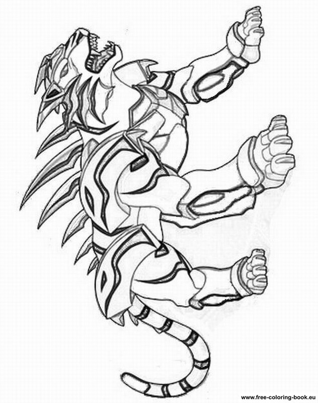 bakugan battle brawlers coloring pages - photo#12