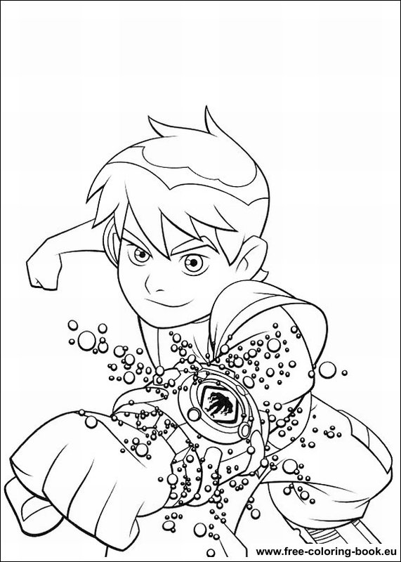 ben 10 printable coloring pages - coloring pages ben 10 page 1 printable coloring pages