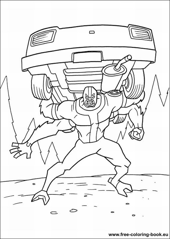 Ben 10 coloring pages printable games | Ben 10, Coloring pages ... | 800x571