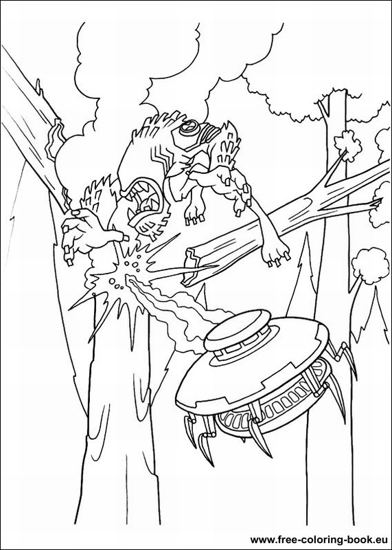 Coloring Pages Ben 10 Page 2 Printable Coloring Pages