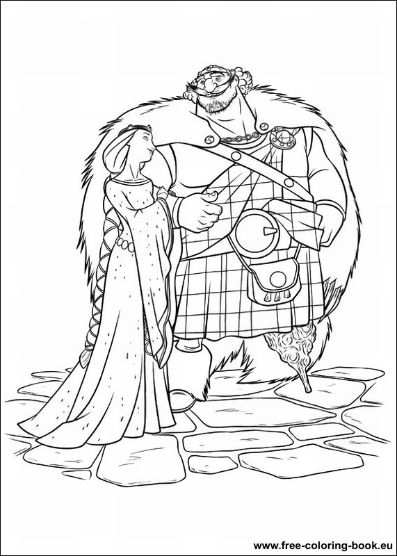 brave coloring pages games free - photo#44