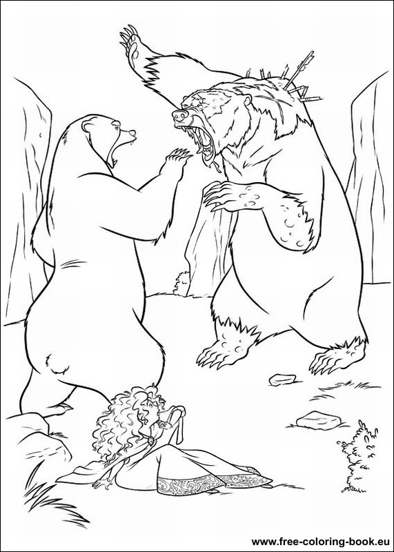Coloring Pages Brave
