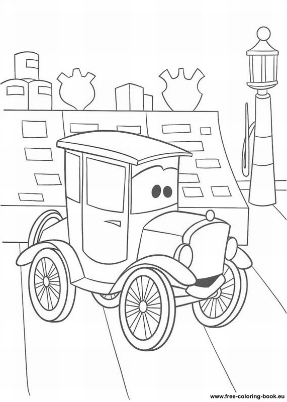 Coloring pages cars disney pixar page 1 printable for Cars halloween coloring pages