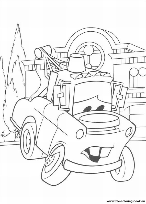 Coloring Pages Cars Disney Pixar