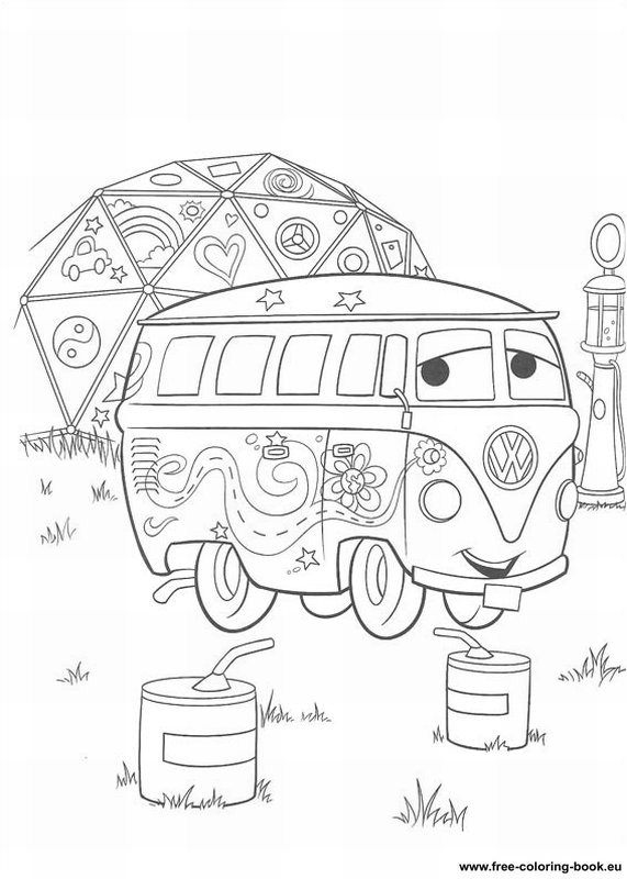 Coloring Pages Cars Disney Pixar Page 1 Printable Pixar Cars Coloring Pages
