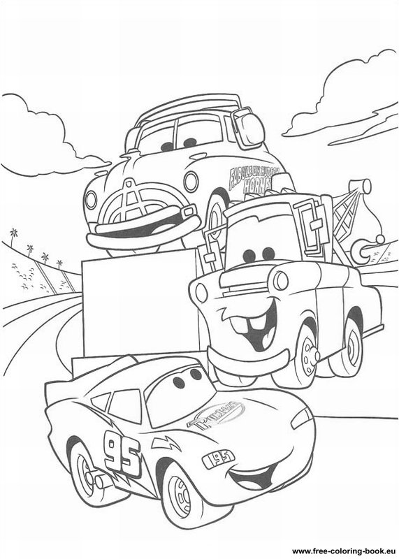 coloring pages cars disney pixar page 1 printable coloring pages online. Black Bedroom Furniture Sets. Home Design Ideas
