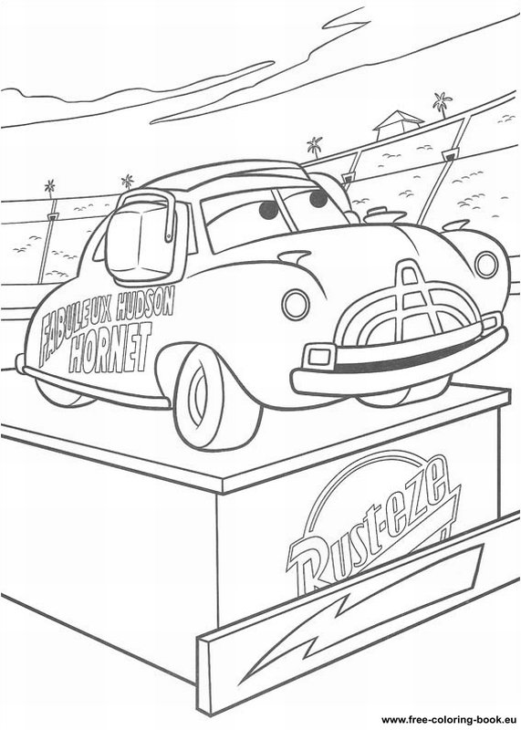 coloring pages of cars 2 - photo#30