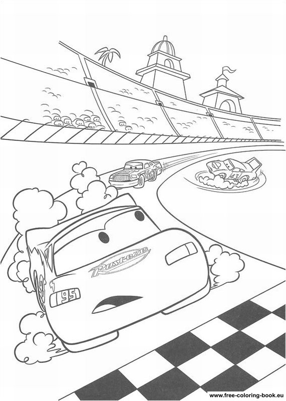 Coloring pages cars disney pixar page 2 printable for Foto cars da stampare