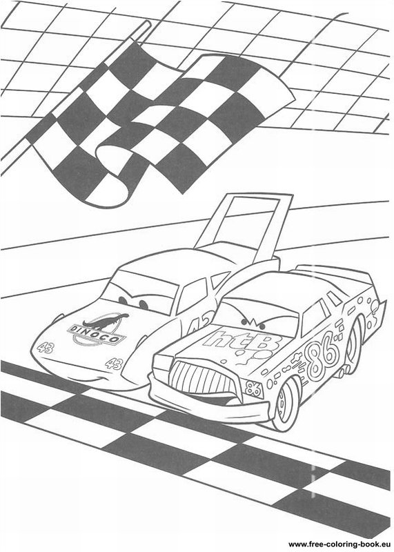 Coloring pages Cars Disney Pixar Page 2 Printable