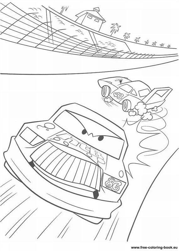 Coloring pages Cars Disney Pixar