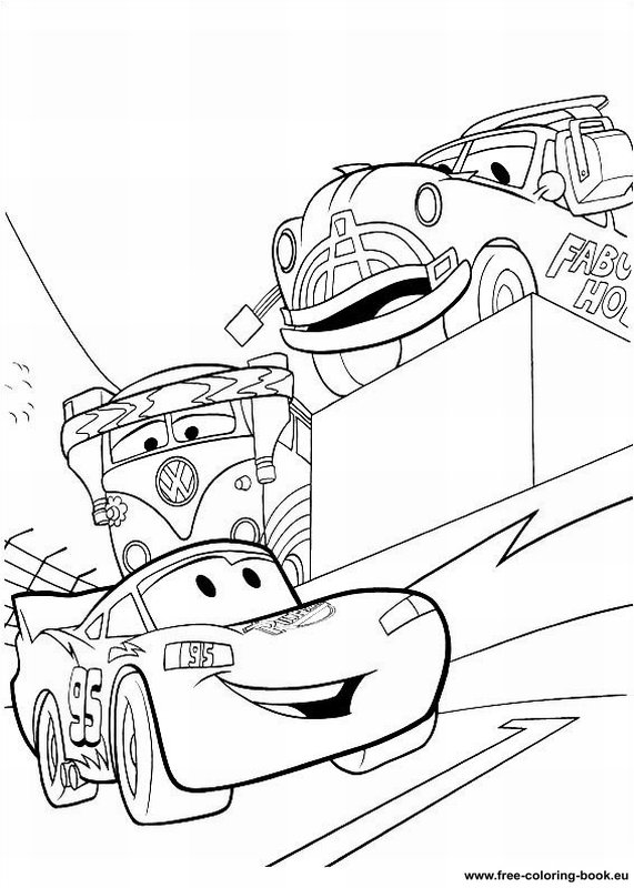 Coloring pages Cars Disney Pixar - Page 2 - Printable ...