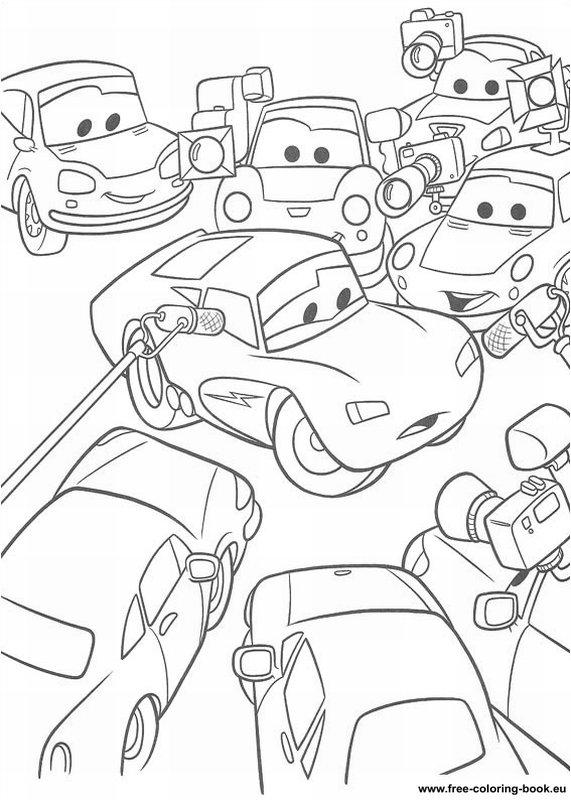 coloring pages cars disney pixar - page 2