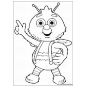 Coloring pages Fifi and the Flowertots - Printable ...