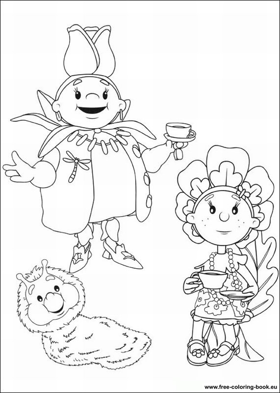 fifi coloring pages - photo#31