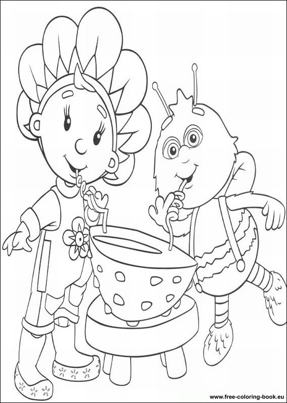 fifi coloring pages - photo#29