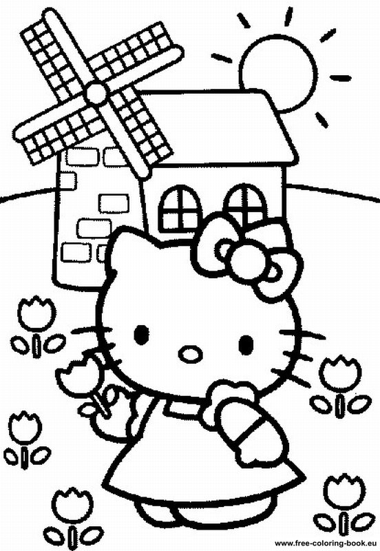 Hello Kitty Ninja Coloring Pages : Coloring pages hello kitty printable online