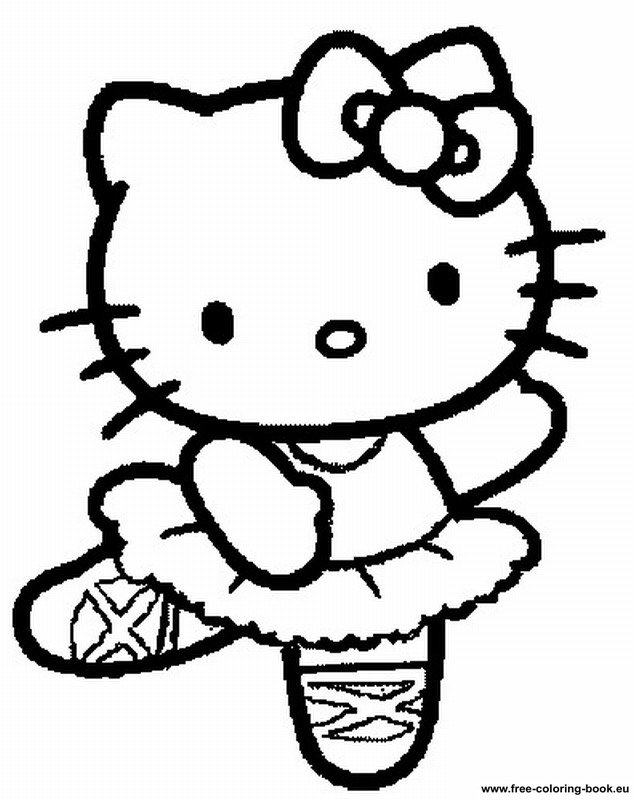 Coloring pages hello kitty printable coloring pages online for Coloring pages of hello kitty
