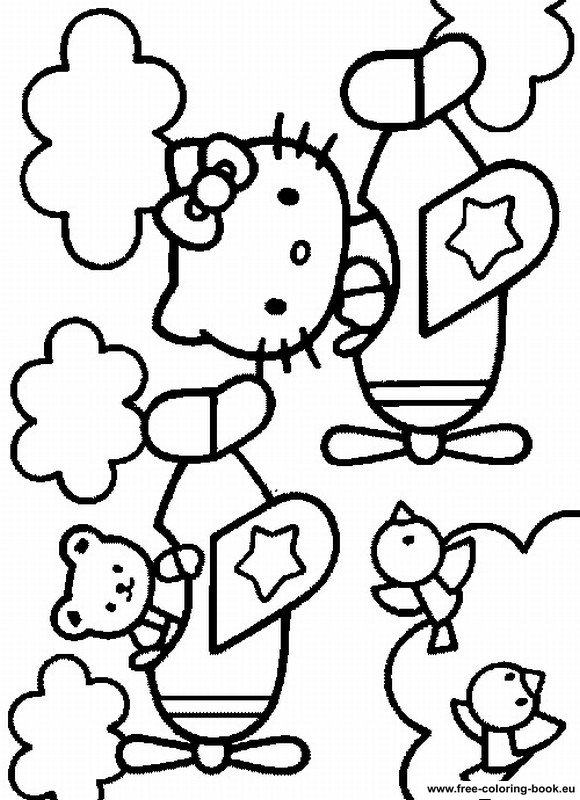 Coloring pages hello kitty printable coloring pages online for Hello kitty coloring pages print