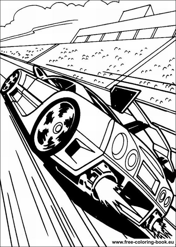 coloring pages hot wheels - page 1