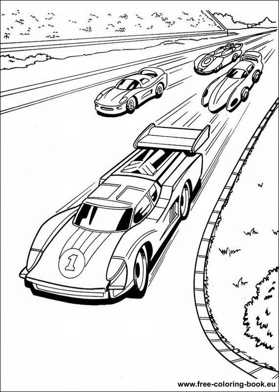 hot wheel coloring pages - photo#19