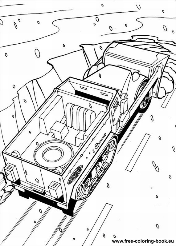 Coloring pages Hot Wheels - Page 1 - Printable Coloring ...