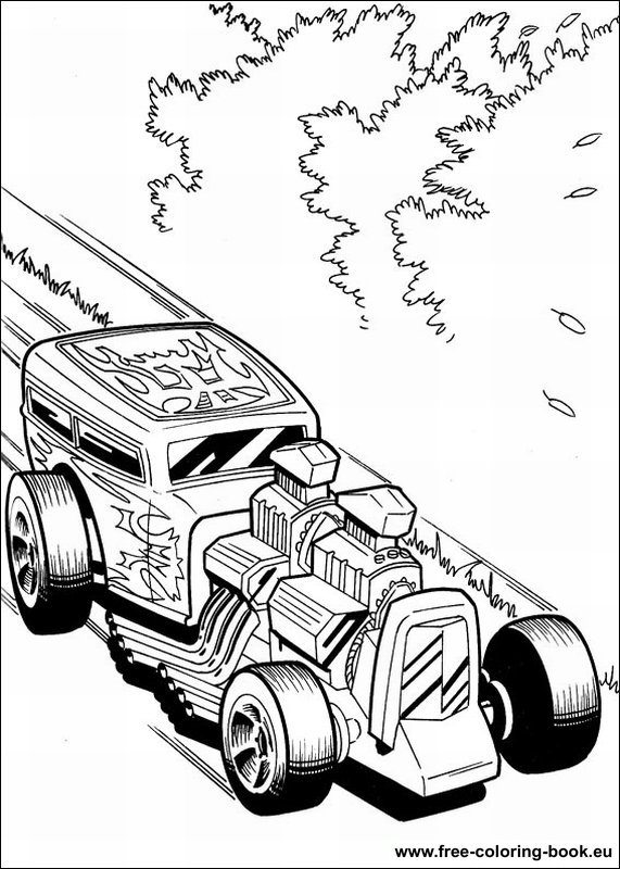 hot wheel coloring pages - photo#30