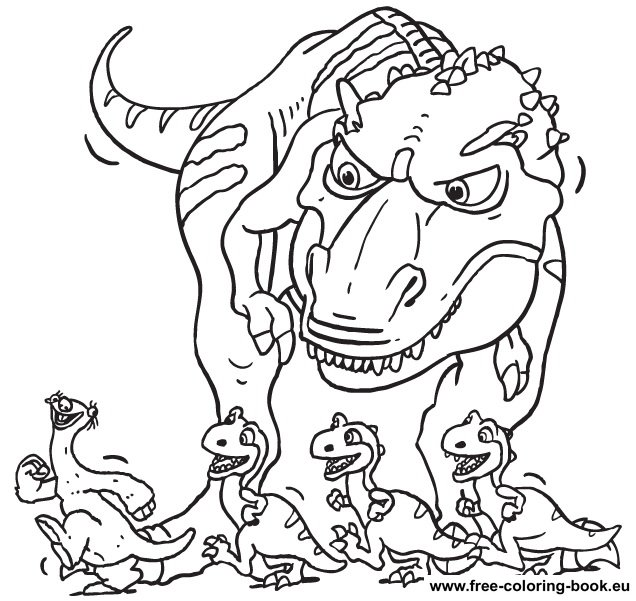 coloring pages ice age  page 1  printable coloring pages
