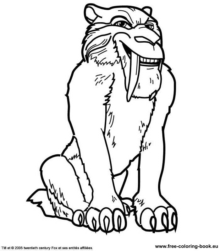 Coloring Pages Ice Age