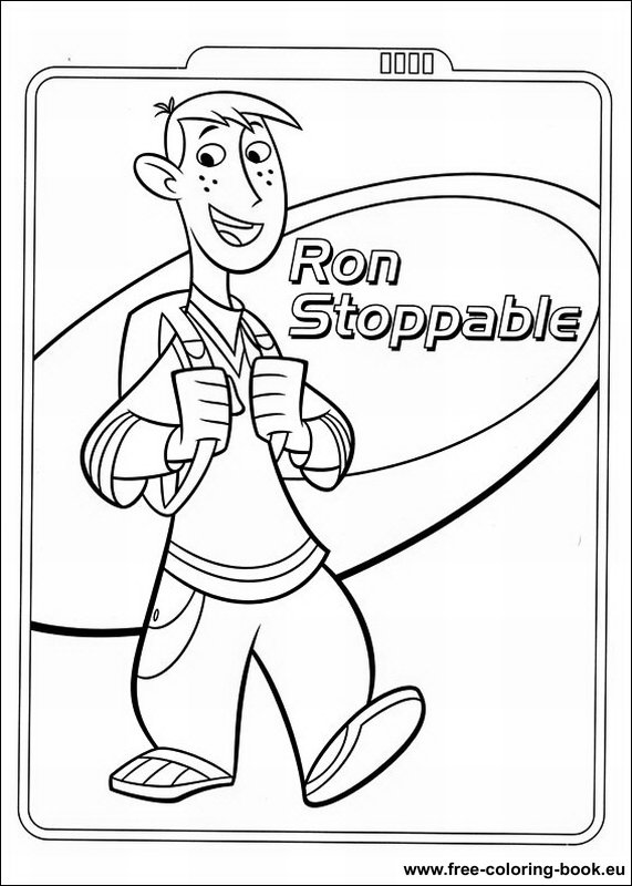 Coloring Pages Kim Possible Printable Coloring Pages Online Possible Coloring Pages