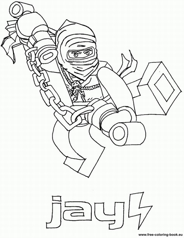 Coloring Pages Lego Ninjago