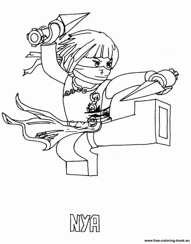 coloring pages lego ninjago