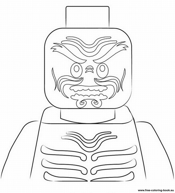 Coloring pages Lego Ninjago Printable