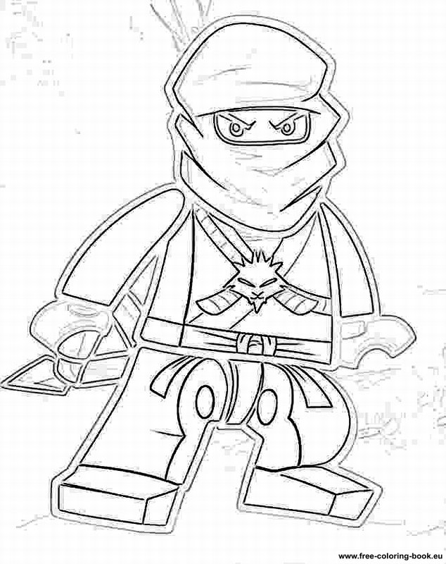 Coloring pages Lego Ninjago - Printable Coloring Pages Online