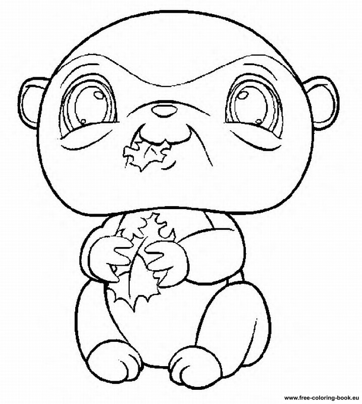 Coloring pages littlest pet shop page 1 printable for Littlest pet shop coloring pages to color online