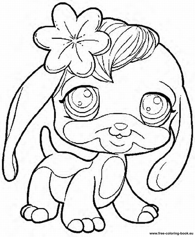 coloring pages lps - photo#28