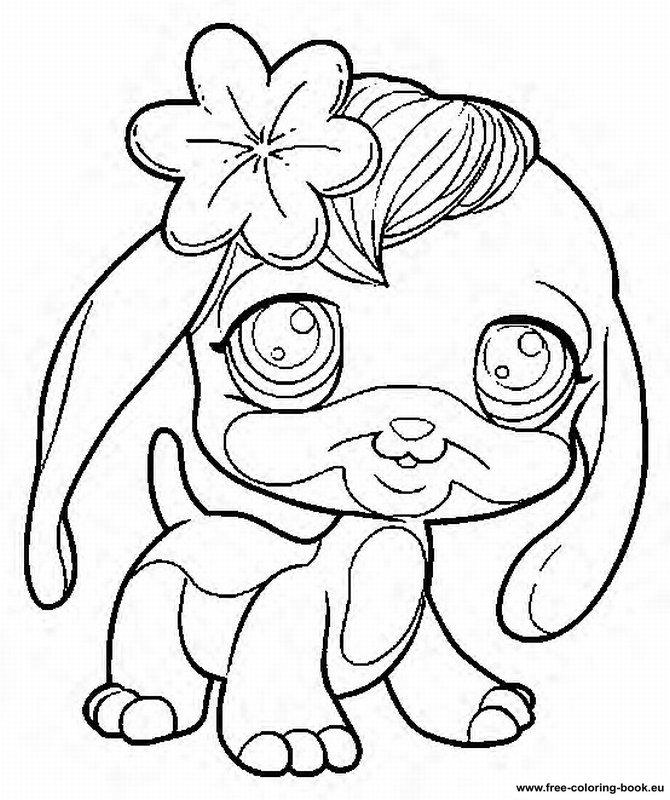 coloring pages littlest pet shop 100 images my littlest pet