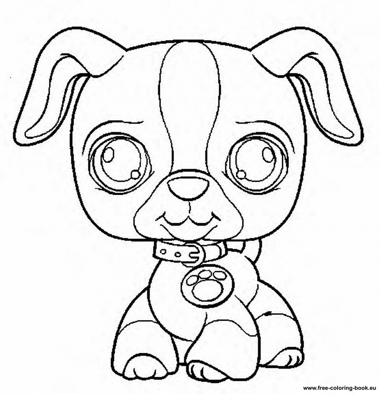 coloring pages lps - photo#29