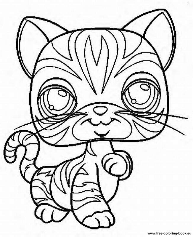 coloring pages lps - photo#33