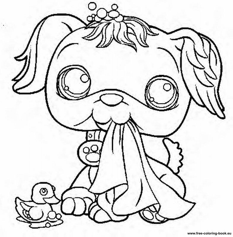 coloring pages littlest pet shop page 2 printable coloring pages online - Squinkies Coloring Pages