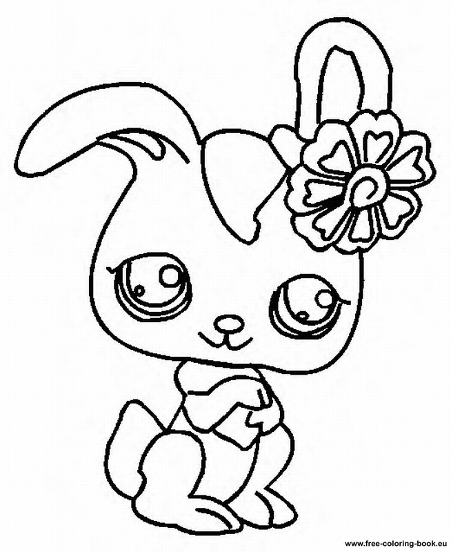 Coloring pages Littlest Pet Shop - Page 2 - Printable Coloring Pages Online