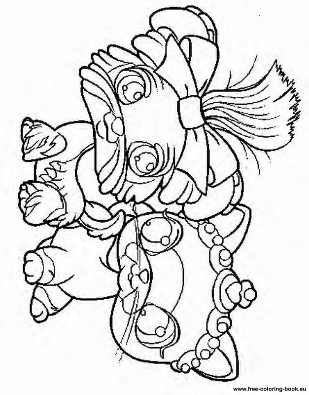 lps coloring pages dachshund puppies - photo#18