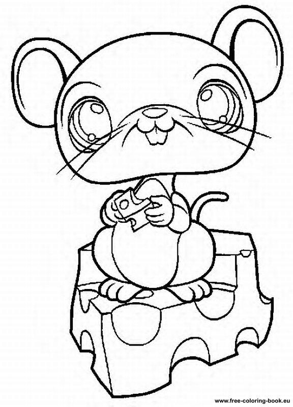 Coloring pages littlest pet shop page 2 printable for Littlest petshop coloring pages