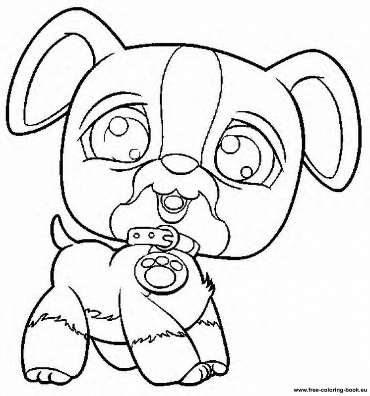 lps dog coloring pages - photo#34