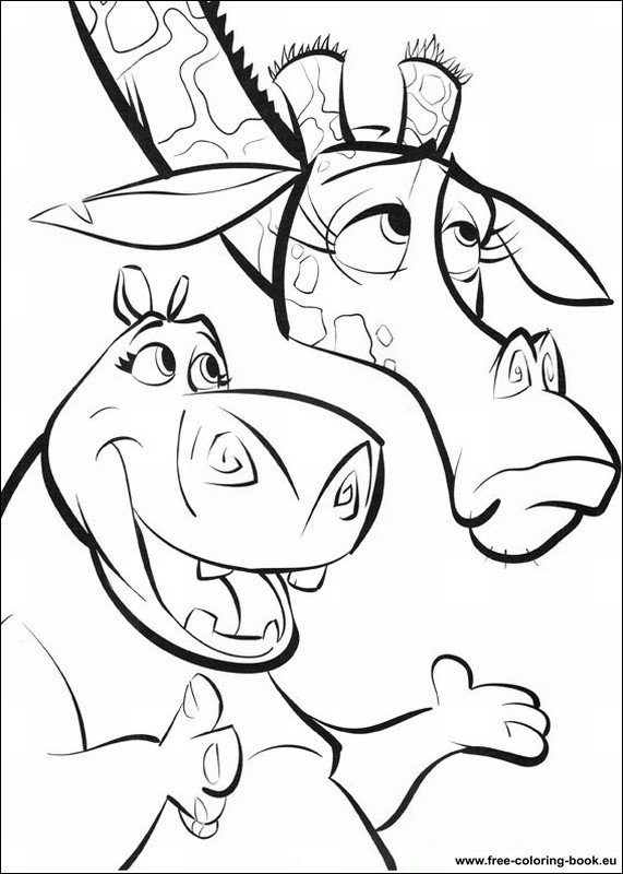 Coloring pages Madagascar Page